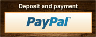 Deposit and payment through Paypal